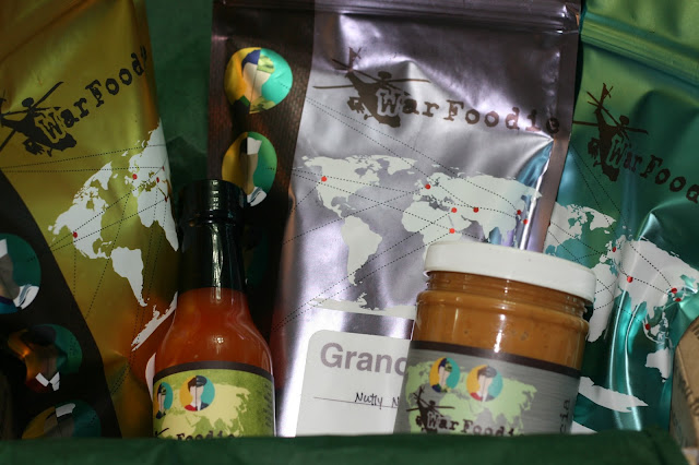 Subscription box from War Foodie