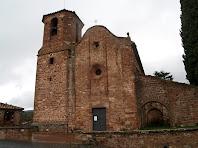 Sant Martí del Brull feta de pedra vermella del país