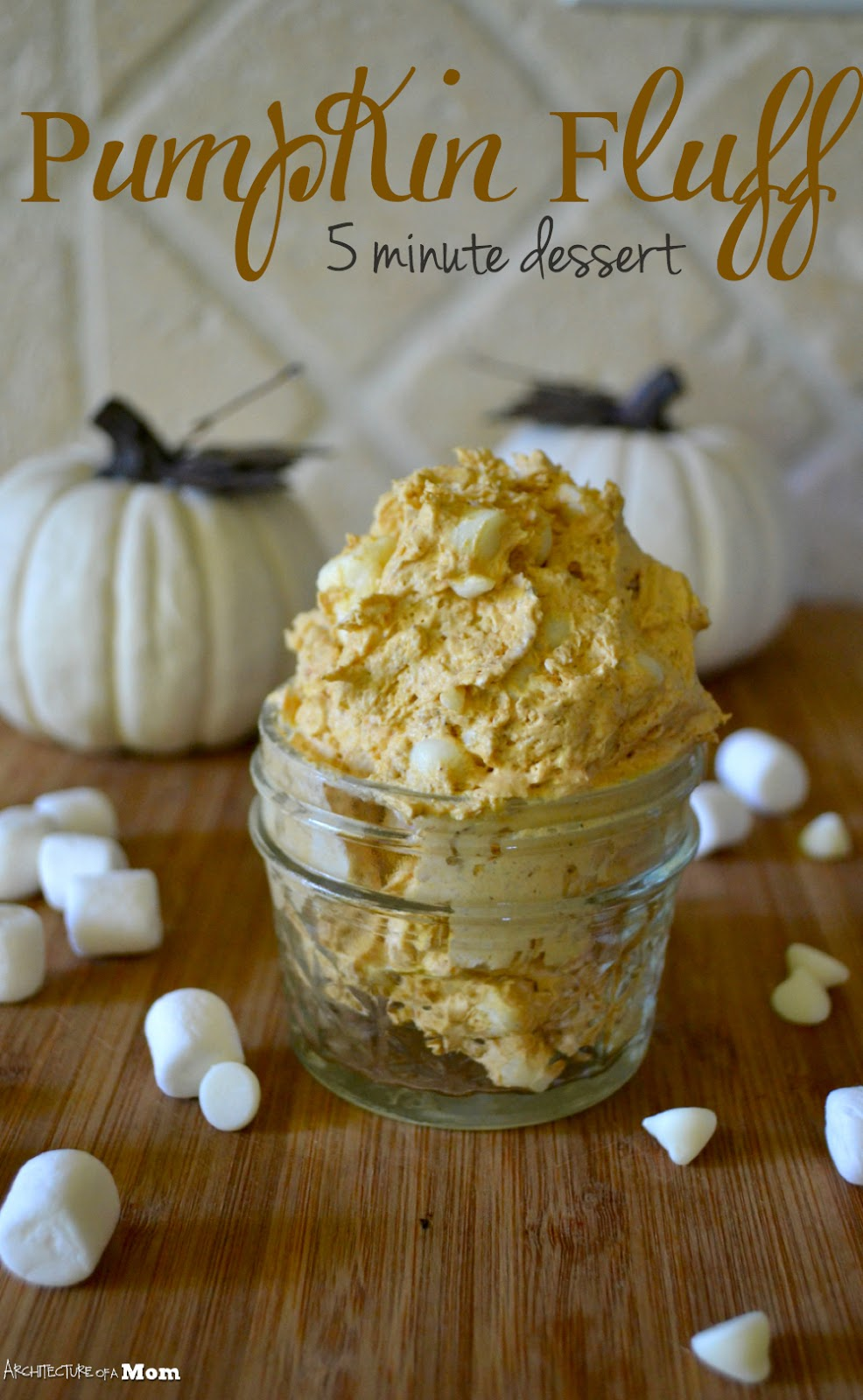 White Chocolate Pumpkin Fluff