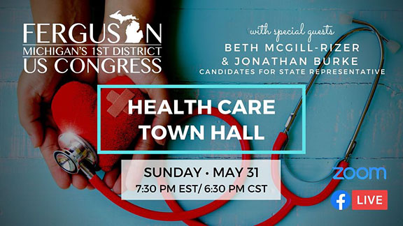 Health Care Town Hall, hosted by Dana Ferguson, now on YouTube
