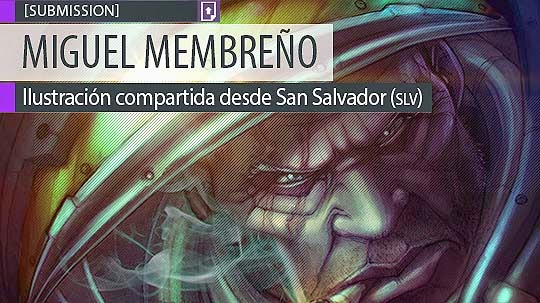 Ilustración. Starcraft de MIGUEL MEMBREÑO