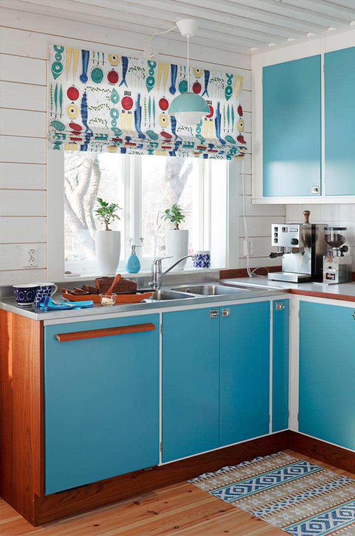 Cute retro kitchen interior design for Cute kitchen designs