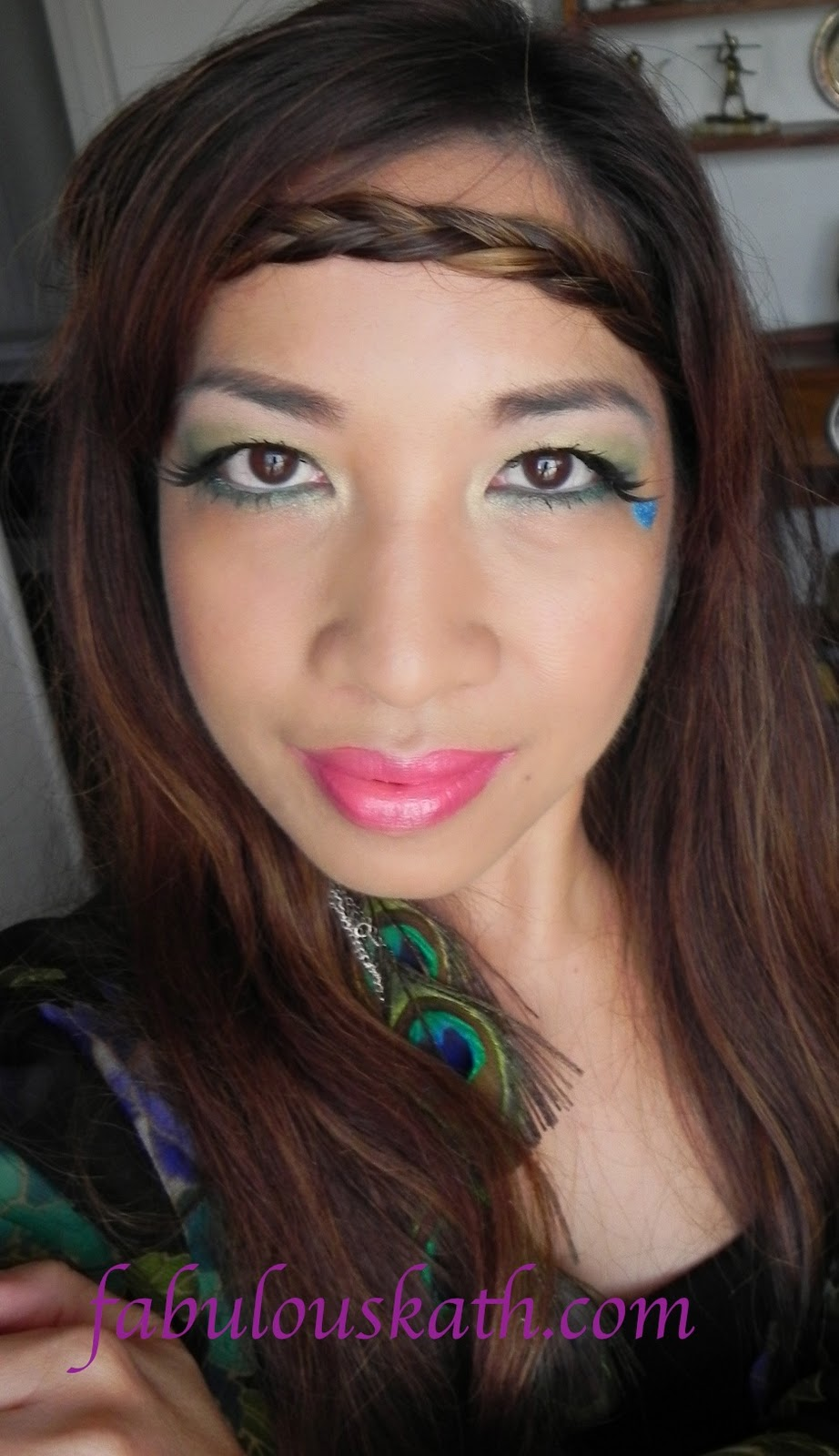 Hippie Flower Child (Makeup & Hair):Easy Halloween Looks | TheFabZilla