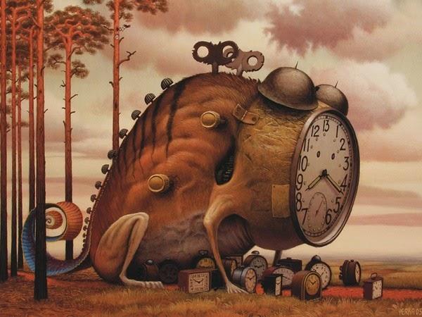 O tempo é a substância de que sou feito. (Jorge Luís Borges)