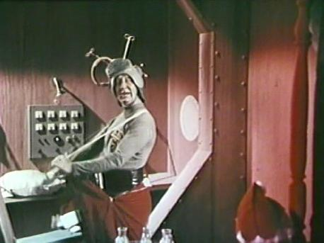 Dropo in Santa Claus Conquers the Martians http://movieloversreviews.blogspot.com/2012/12/santa-claus-conquers-martians-1964.html