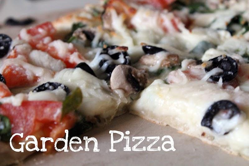 Accidentally Wonderful: Garden Pizza