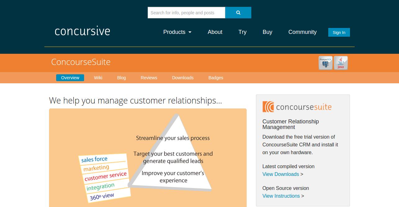 best open source customer relationship management software