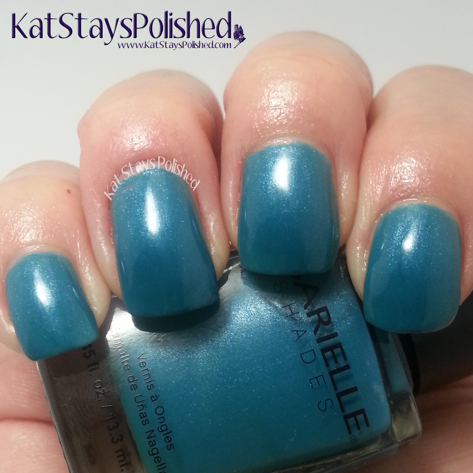 Barielle Gentle Breeze - Under the Sea | Kat Stays Polished