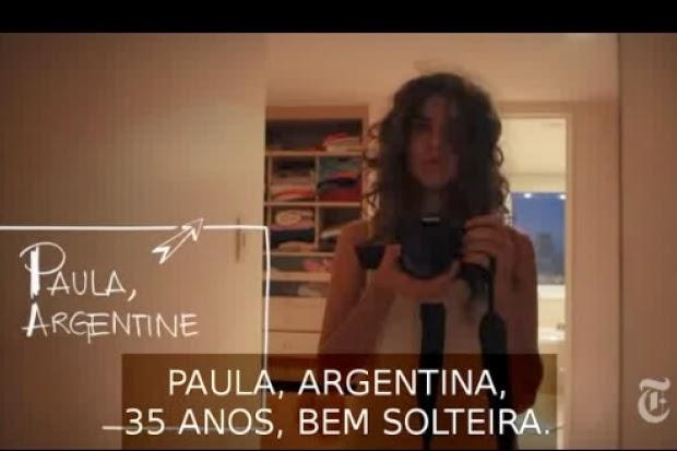 Vídeo de cineasta argentina, solteira aos 35, bomba na web. Uma produção feita à partir dos próprios relacionamentos.