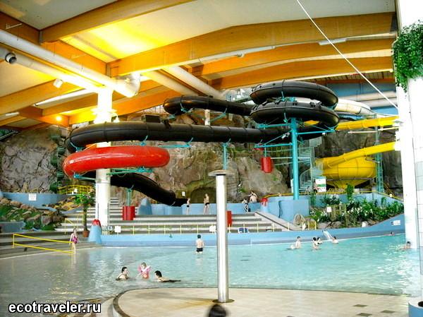Режим работы аквапарка Серена: