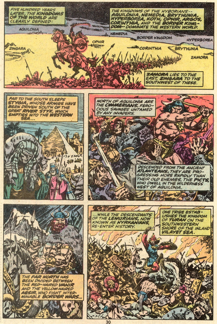 Conan the Barbarian (1970) Issue #87 #99 - English 18