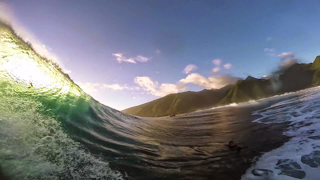 Nat Young - ASP GoPro Challenge Tahiti Second Submission