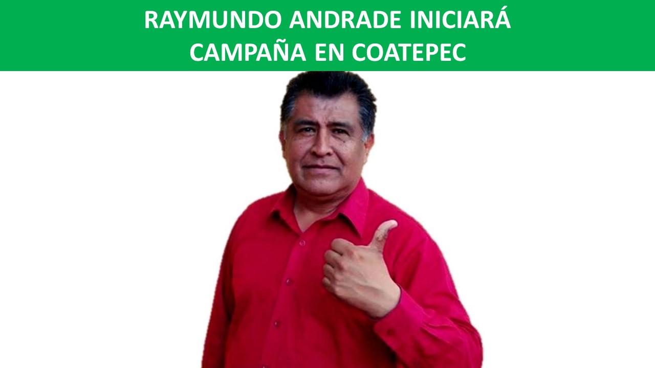 INICIARÁ CAMPAÑA EN COATEPEC