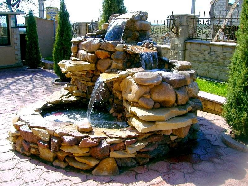 Как украсить фонтан своими руками фото 33