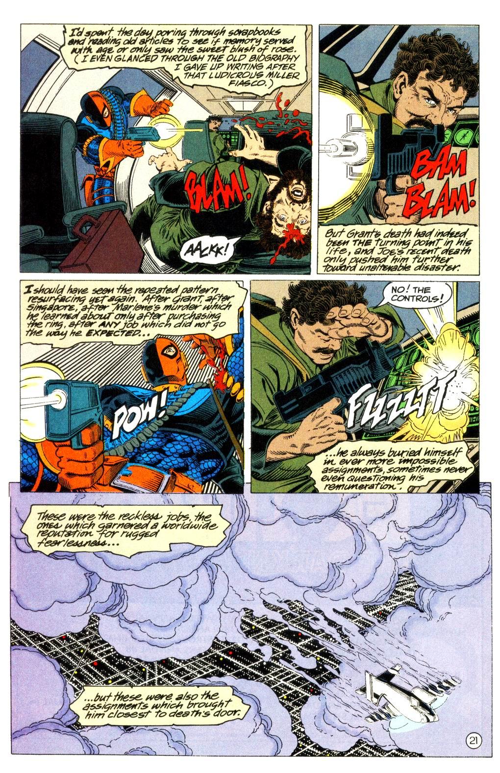 Deathstroke (1991) Issue #11 #16 - English 22
