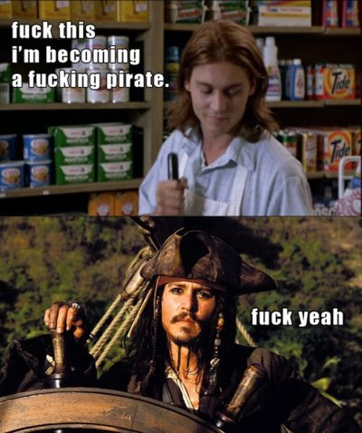 Johnny Depp Pirate Meme