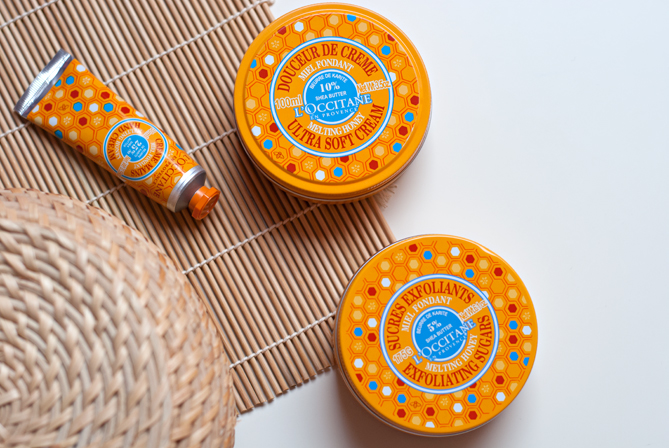 L'Occitane melting honey limited edition