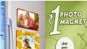 Cutomized Photo Magnets for Rs.75