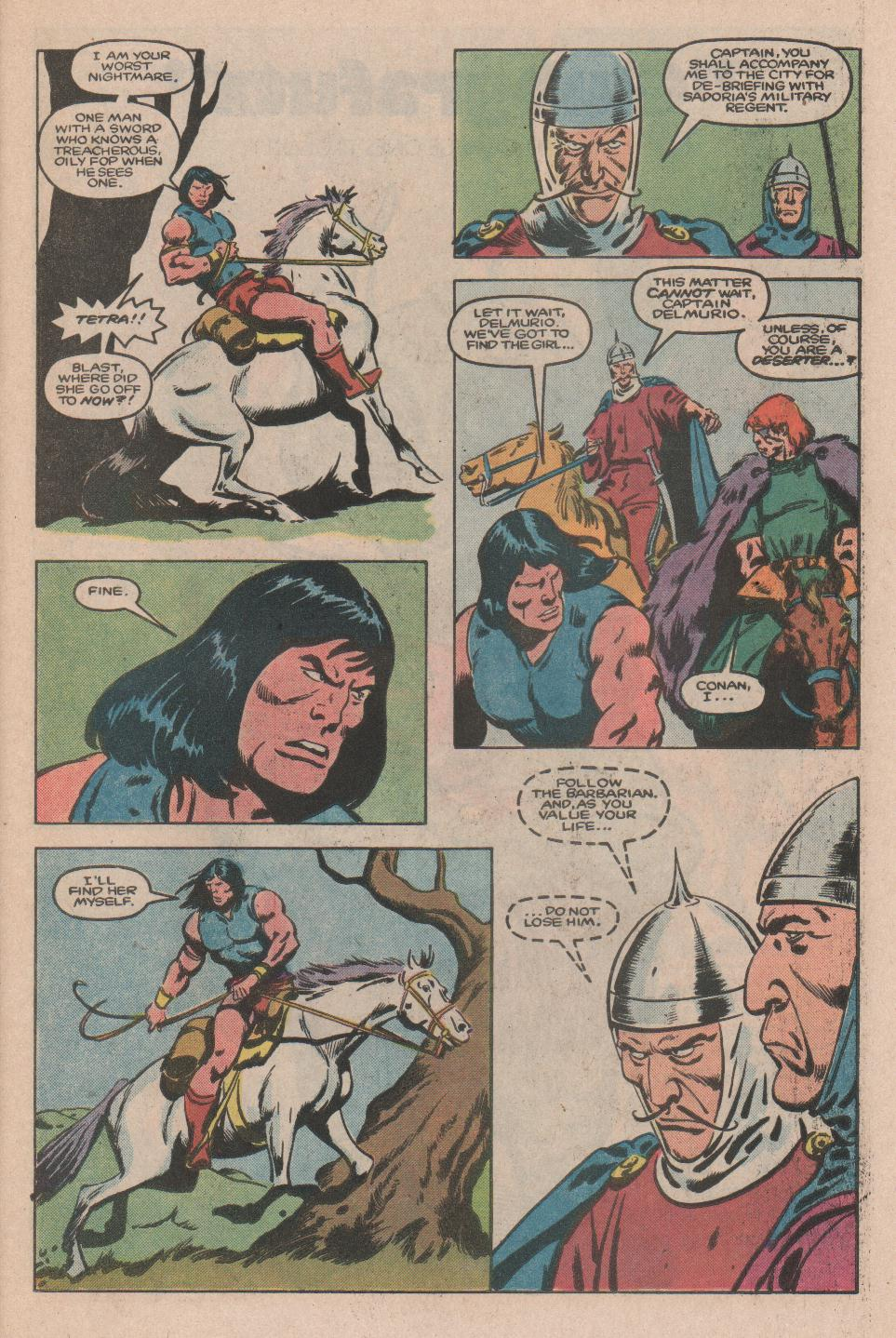 Conan the Barbarian (1970) Issue #174 #186 - English 8