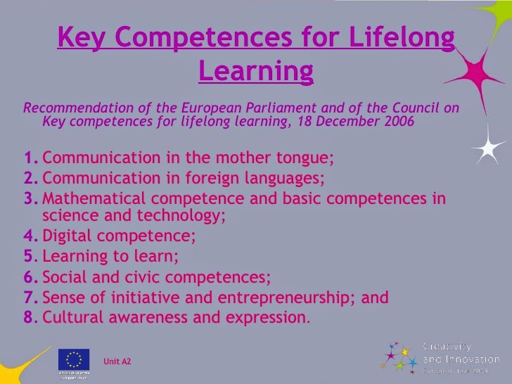 Communication in a foreing language, a key competence in Europe!