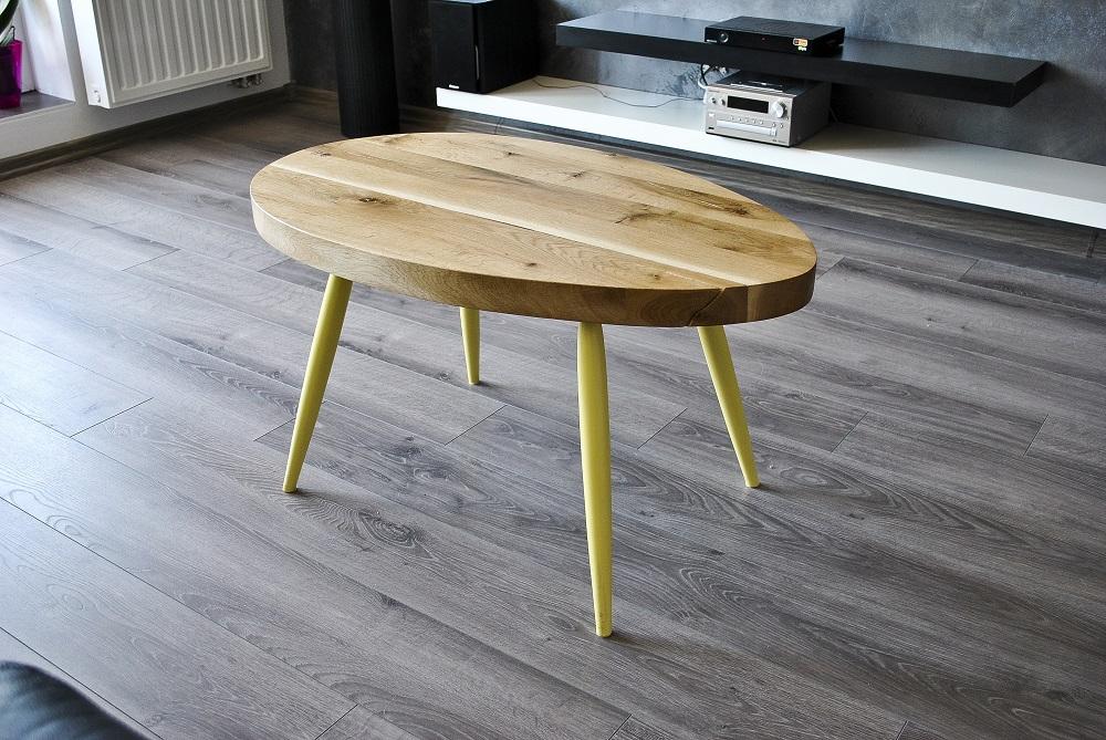 Scandinavian Style Oval Oak 2
