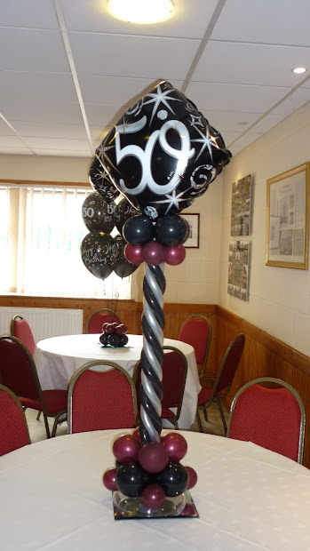 50th Birthday Party Centerpiece Ideas