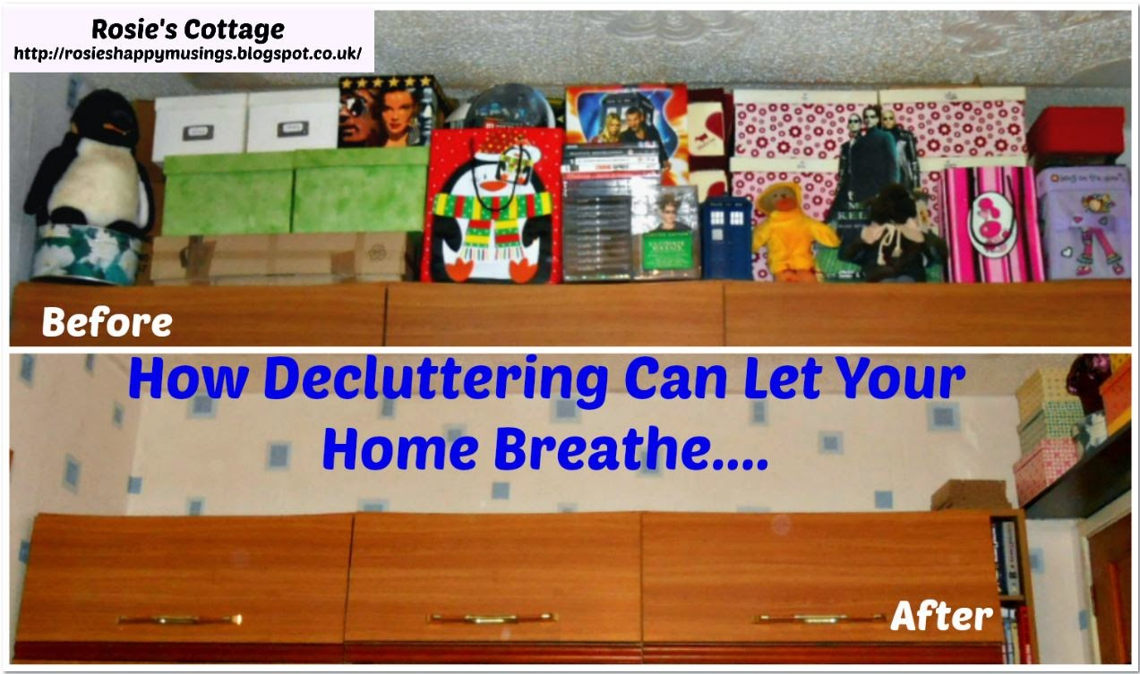 How De-cluttering Can Let Your Home Breathe
