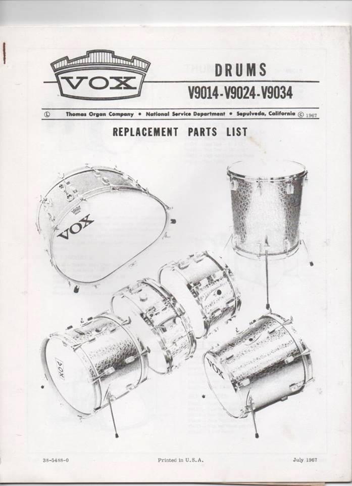 Vox Catalogue