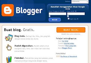 akun creator blogspot