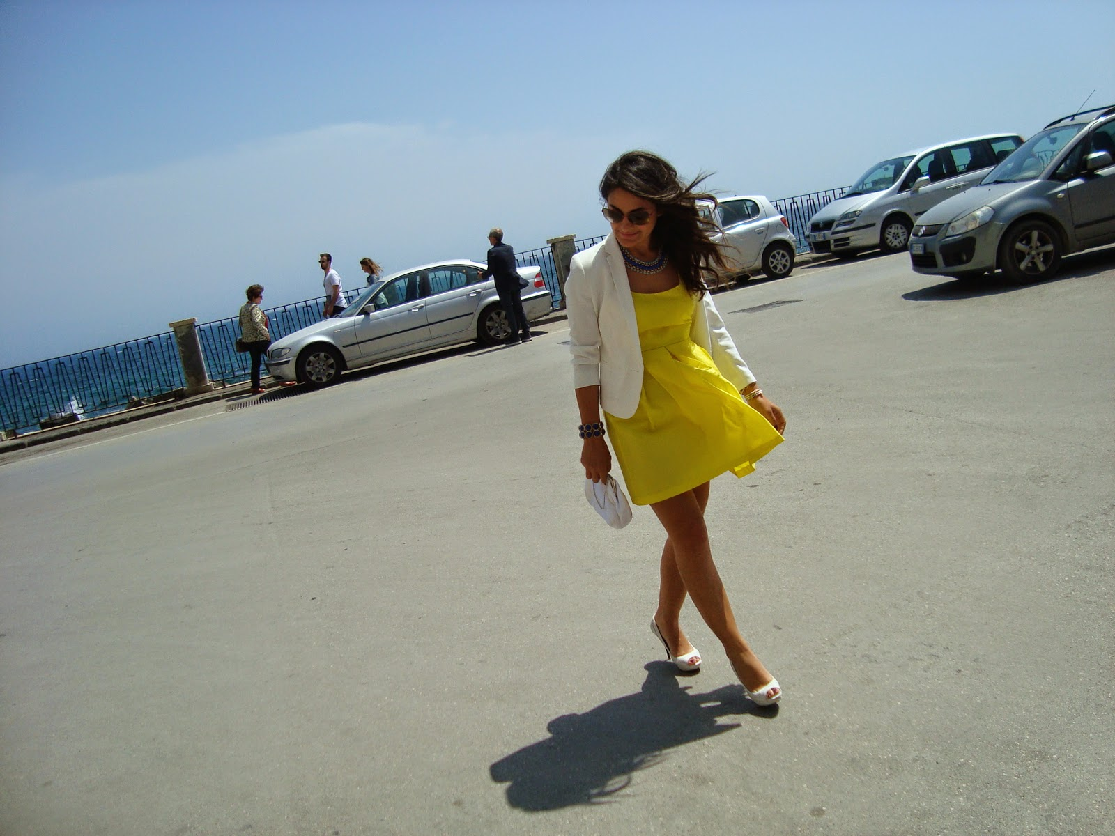 YELLOW, ZARA, BLOGGER, OUTFIT