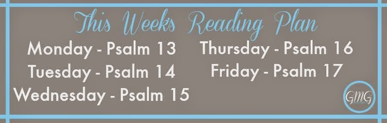 Psalms Reading Plan