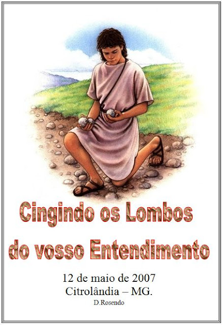Cingindo os lombos do entendimento