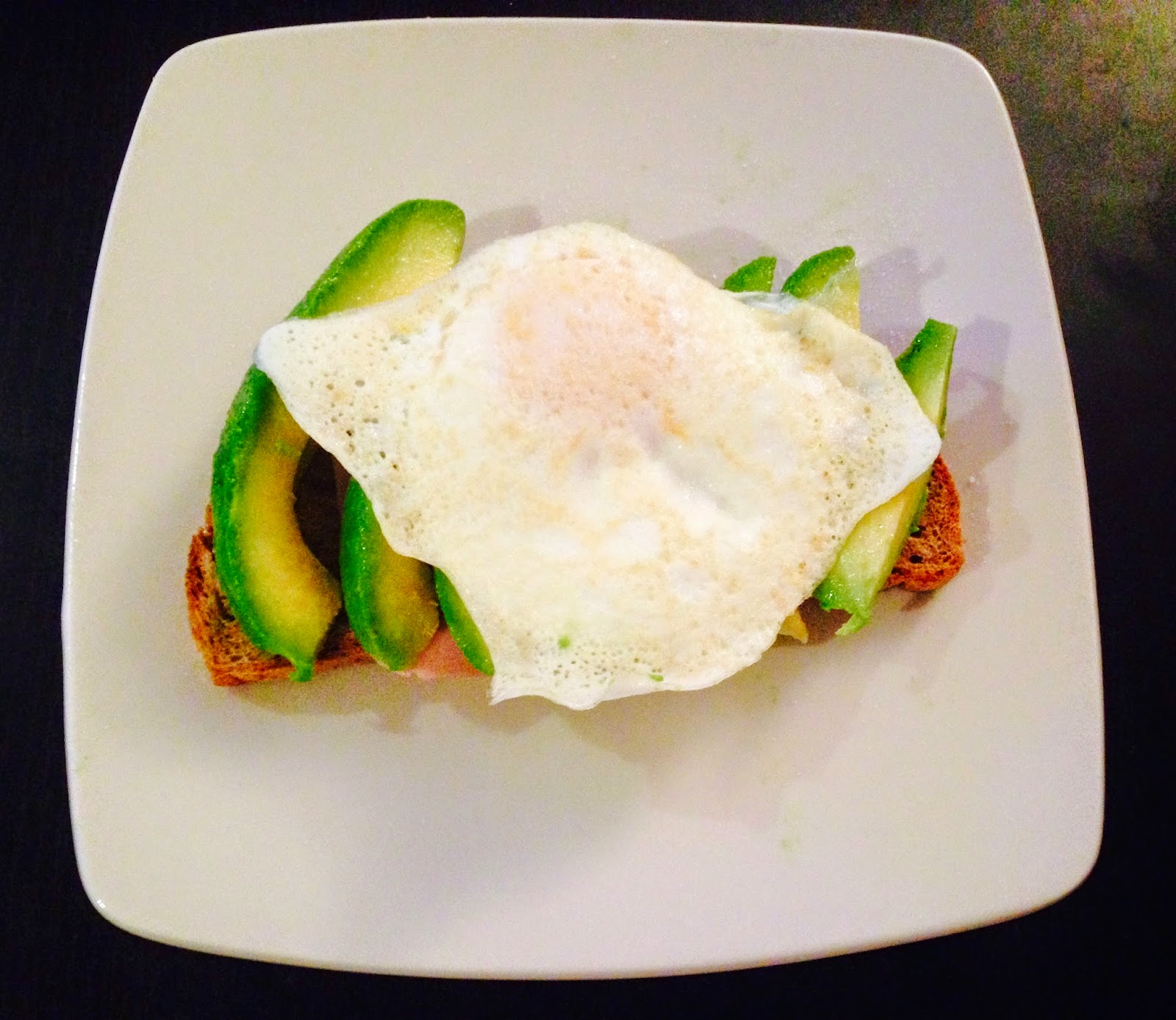 Egg Toast Avocado Healthy What I Eat in a Day Glasgow Girls Guide