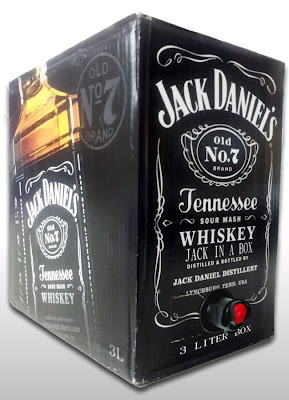 3 liter box of Jack Daniels Whiskey