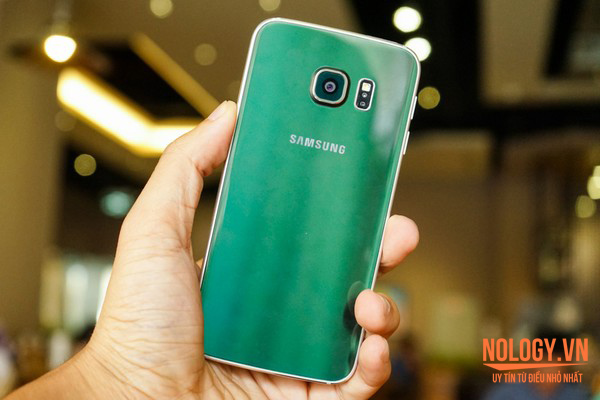 Samsung Galaxy S6 Edge Green Emerald