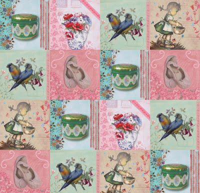 ... /Lovely Interior Advice: Wallpaper Vintage Chic by East West Papers