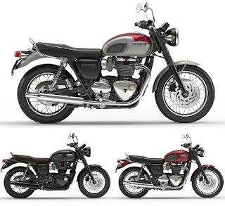 2016 Triumph Bonneville T120 and T120 Black