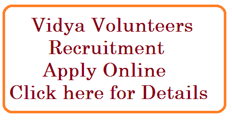 Vidya Volunteers/VVs/Academic Instructors Recruitment in Telangana Apply Online at ssa.tg.nic.in from 07.09.2015 3pm onwards. Candidates should apply online for the Recruitment of Vidya Volunteers in Telangana at the Official website of SSA ssa.tg.nic.in rc-330-vidya-volunteers-recruitment-apply-online-at-ssa.tg.nic.in