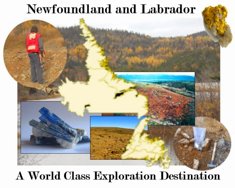 Newfoundland and Labrador is an emerging world class gold district