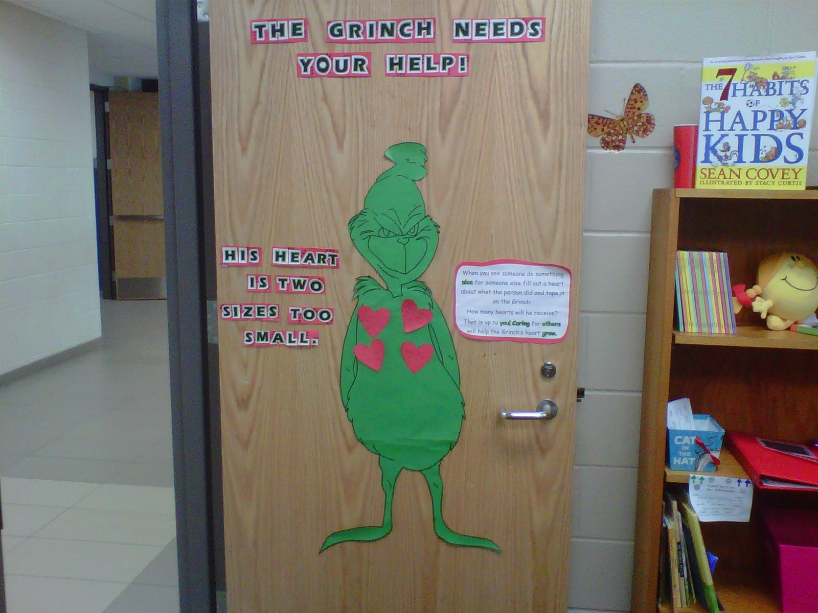 ... Grinch when they see someone else do something nice. It will be fun to see all of the kind things our Jacobson students are doing for their classmates ... & Mrs. Dielschneider: December Updates