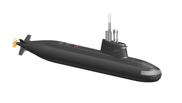 S-1000 diesel submarine project