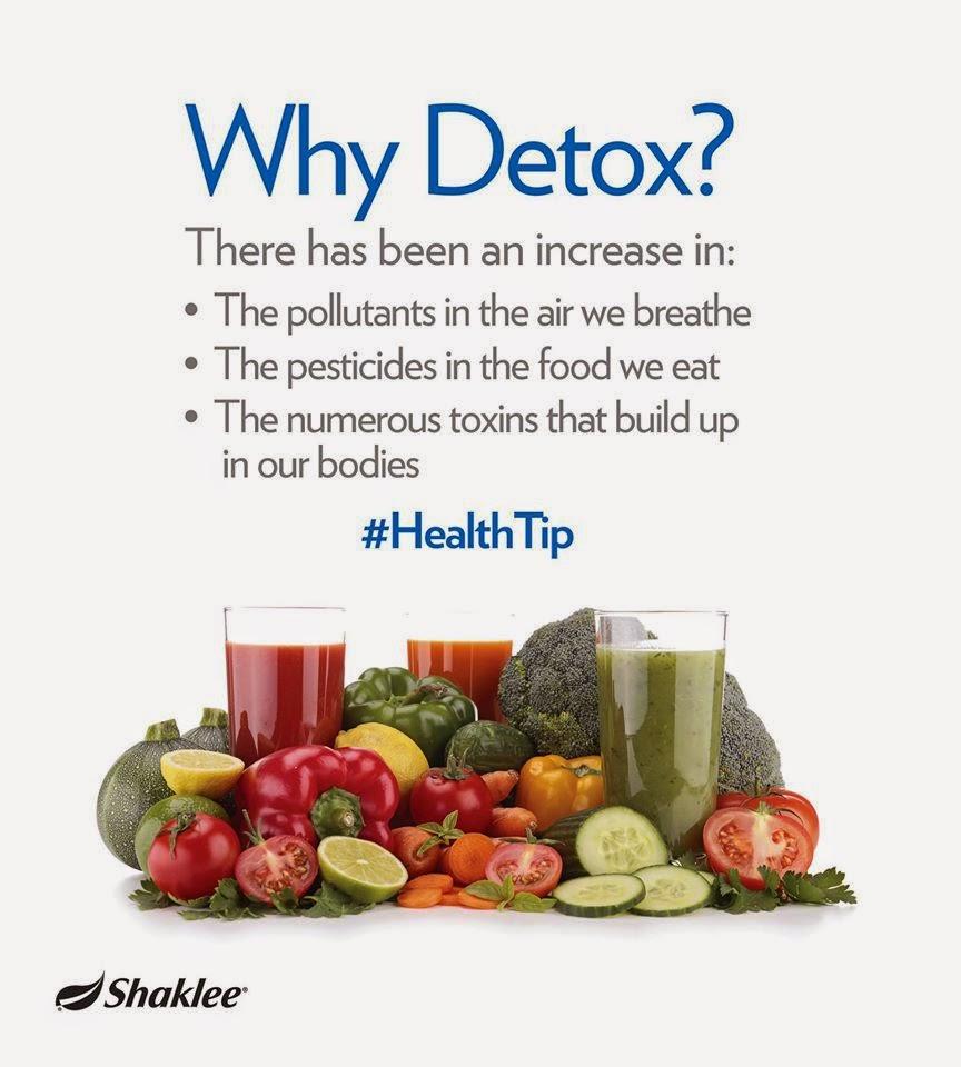 Kenapa perlu detox? ~ CikguNorazimah