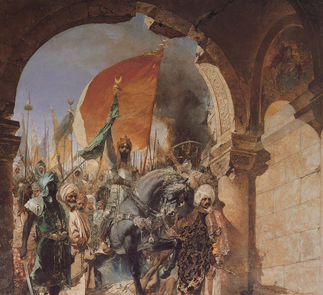 l'Empire romain d'Orient, est tombée aux mains des Ottomans.