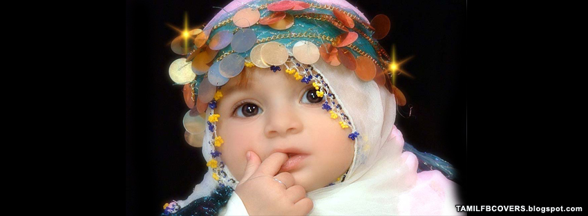 My India FB Covers: Arabian Style Cute Baby - Babies FB Cover