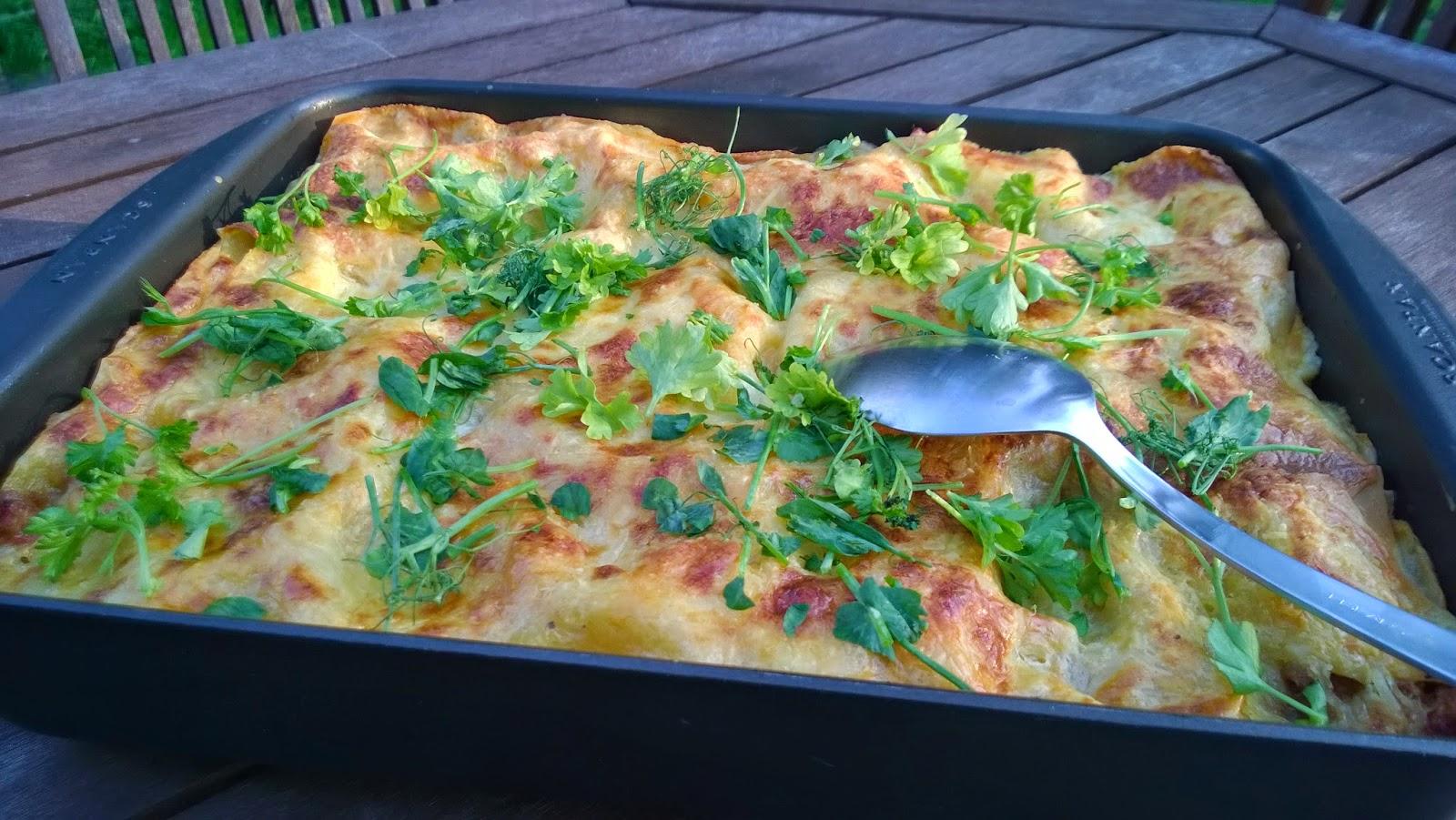 Se täyteläisin, lihaisin ja fetajuustoisin lasagne!