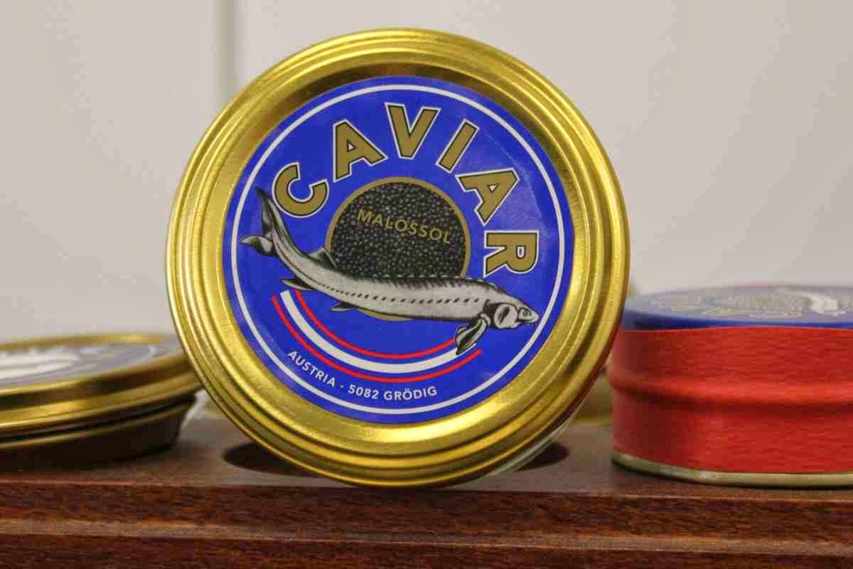 Kaviar aus Österreich vom Fischhandel Grüll in Grödig bei Salzburg