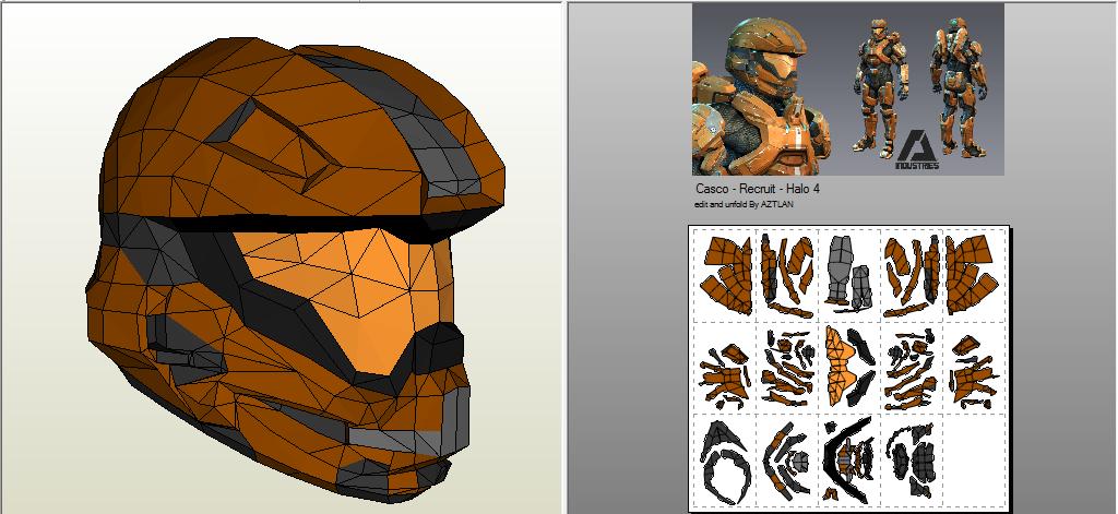 AZTLAN: Armadura Recruit - Halo 4