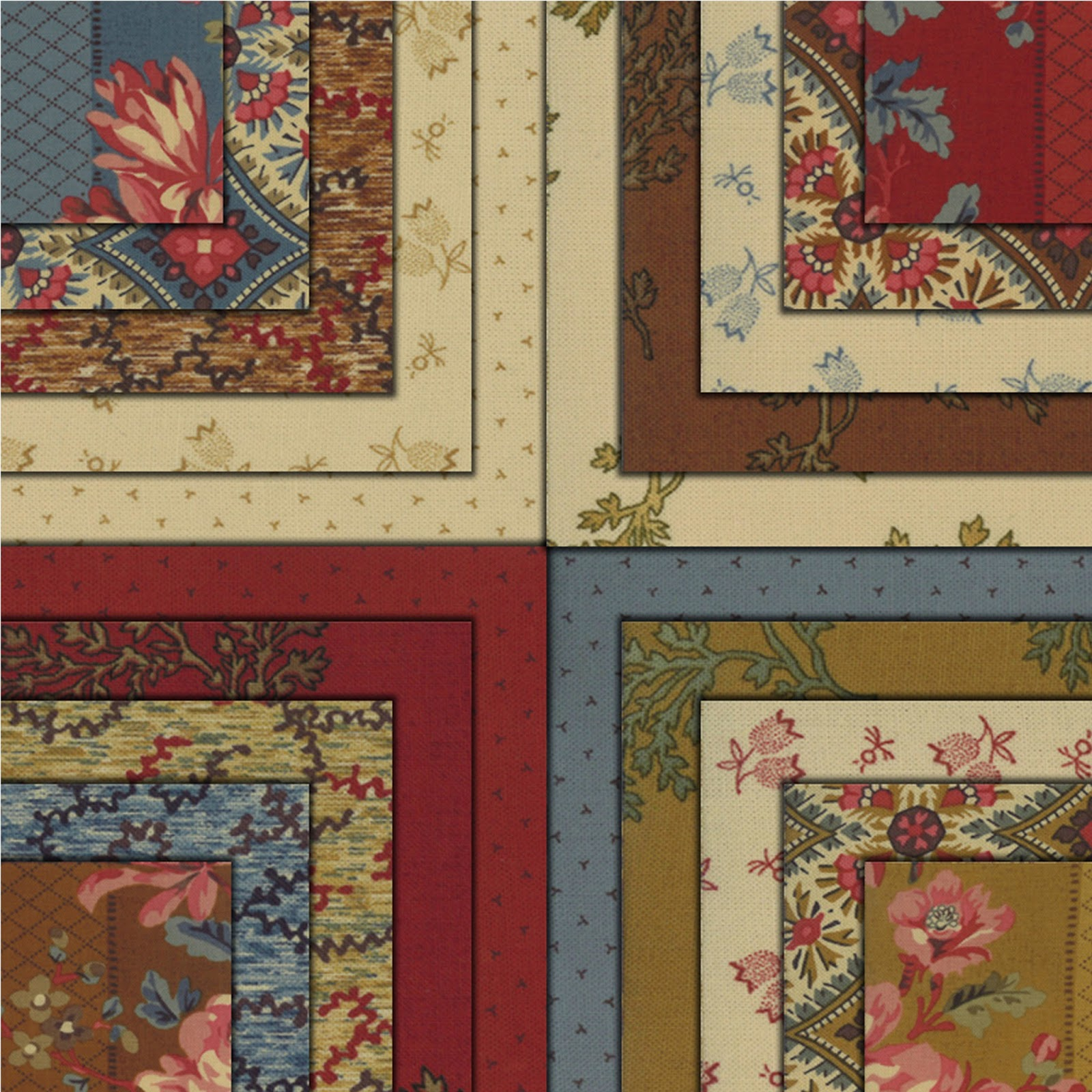 Moda HOPE CHEST Quilt Fabric by Edyta Sitar of Laundry Basket Quilts