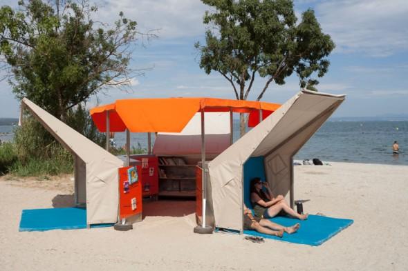 Mobile Beach Library