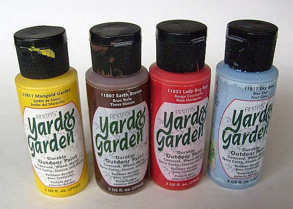Yard U0026 Garden Paint (also Called Patio Paints) Are Specially Formulated For  Outdoor Use. This Gnome Home Was Painted Using These Specialty Acrylics.